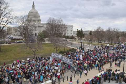 WATCH: 2019 March for Life on the National Mall