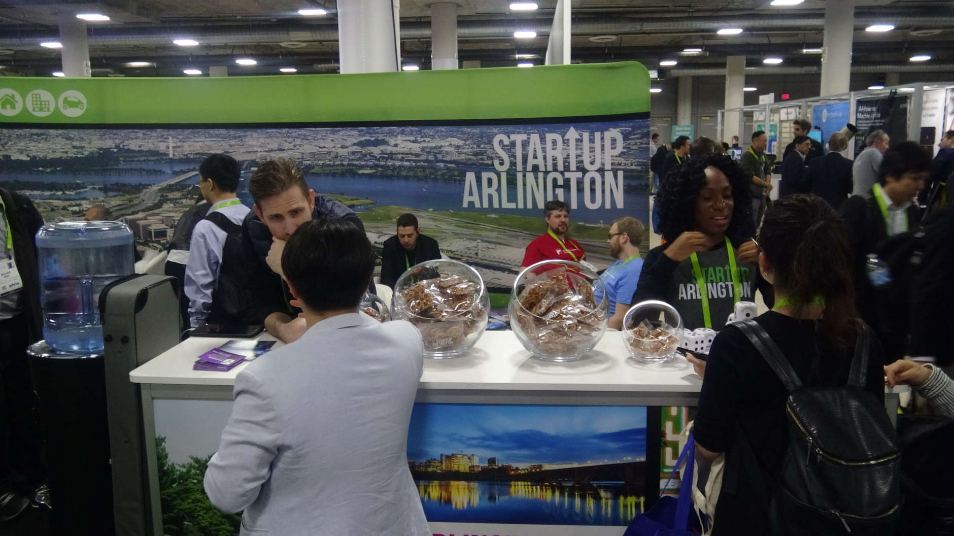 This week in Las Vegas, a major D.C.-area jurisdiction has brought its unique approach for supporting local startups to CES. (Courtesy Kenny Fried)