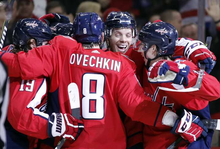 Home winning streak hits league-best 10 for Caps