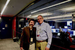 Greg Redfern and Carl Starr. (WTOP/Greg Redfern)