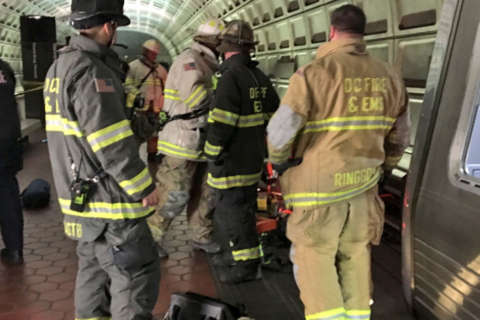 Man pulled from under Metro train at Benning Road station