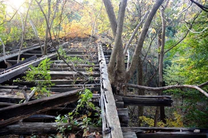 Future of 120-year-old trestle in Northwest DC hangs in balance