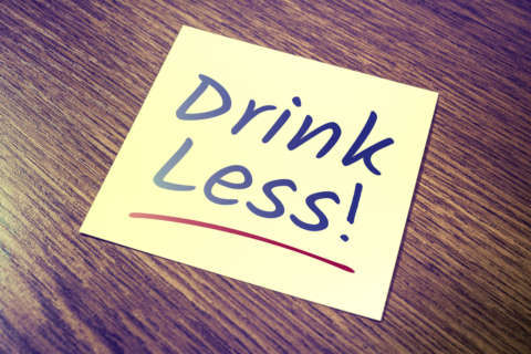 Drinking less one of your resolutions? Here are some tips