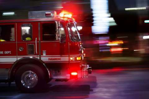 Southeast DC woman in critical condition after jumping from fire