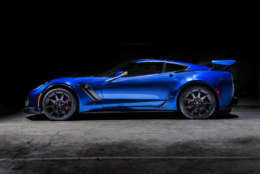 The Genovation GXE is a retrofitted Corvette C7 that is set to be one of the top performing electric cars ever. (Courtesy Josh Scott)