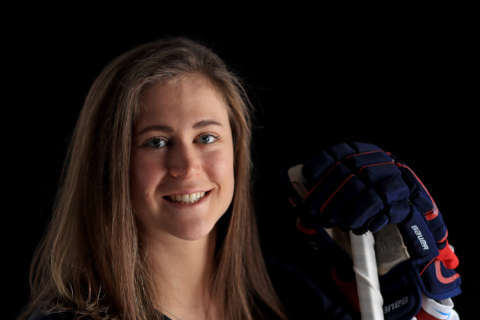 Haley Skarupa: From thin ice to center ice
