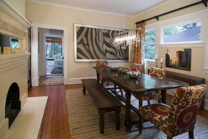 N c designed by casey to compliment the up close african photograph of the zebra stephen young laura casey laura casey interiors via