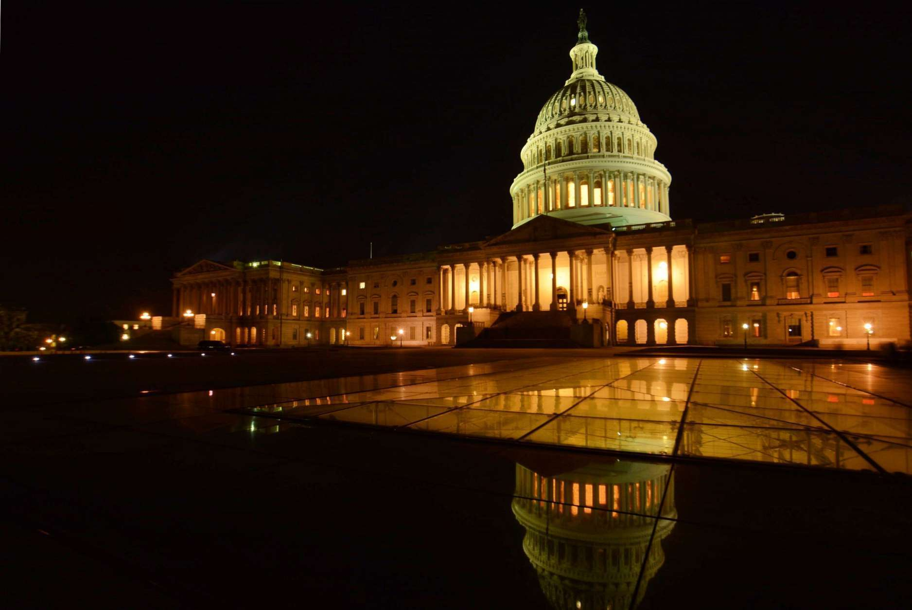 The federal government remains shut on Saturday, Jan. 20, 2018, as the Senate failed to approve a temporary funding bill Friday. (WTOP/Dave Dildine)