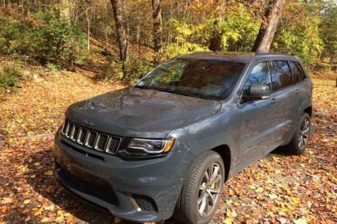 Jeep takes SUV from boring to crazy with Grand Cherokee Trackhawk