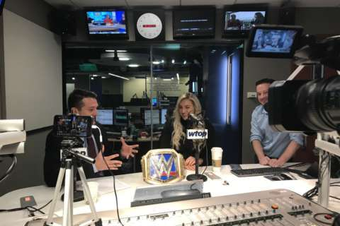 WWE champ Charlotte Flair talks dad's influence, Royal Rumble (Video)