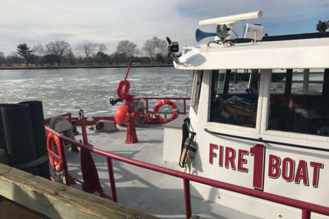 Ice breaker: How this fire crew is cracking DC's icy waterways