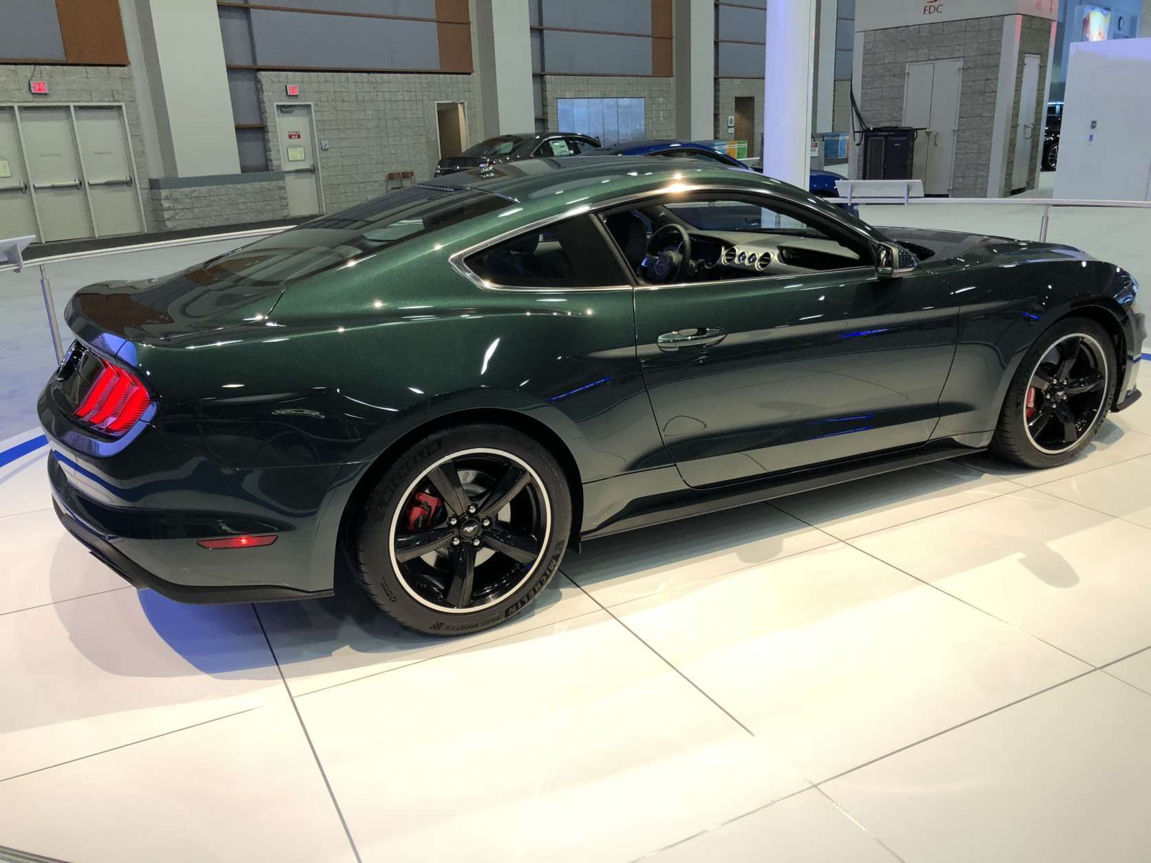 2018 Ford Mustang Bullitt (WTOP/Mike Parris)