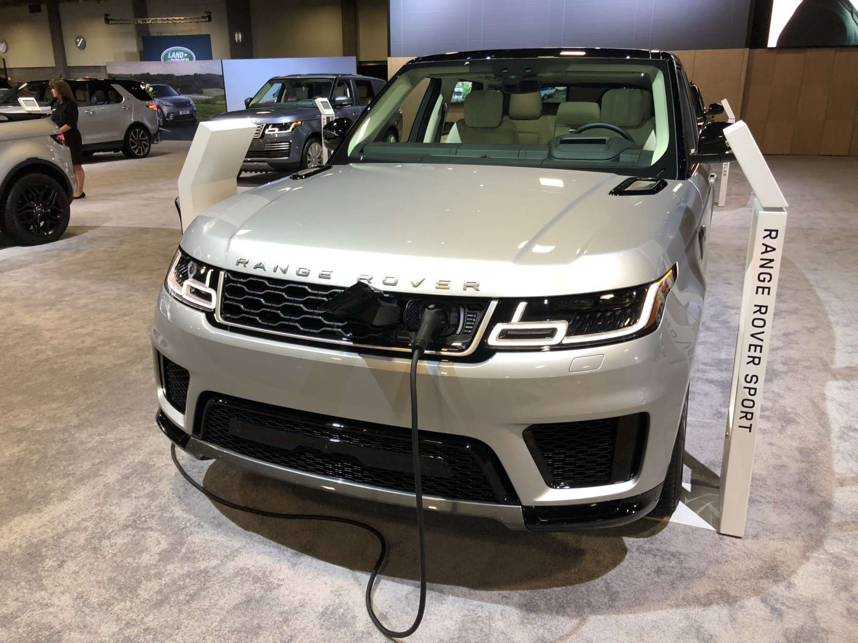 Range Rover Sport Plug-in hybrid (WTOP/Mike Parris)