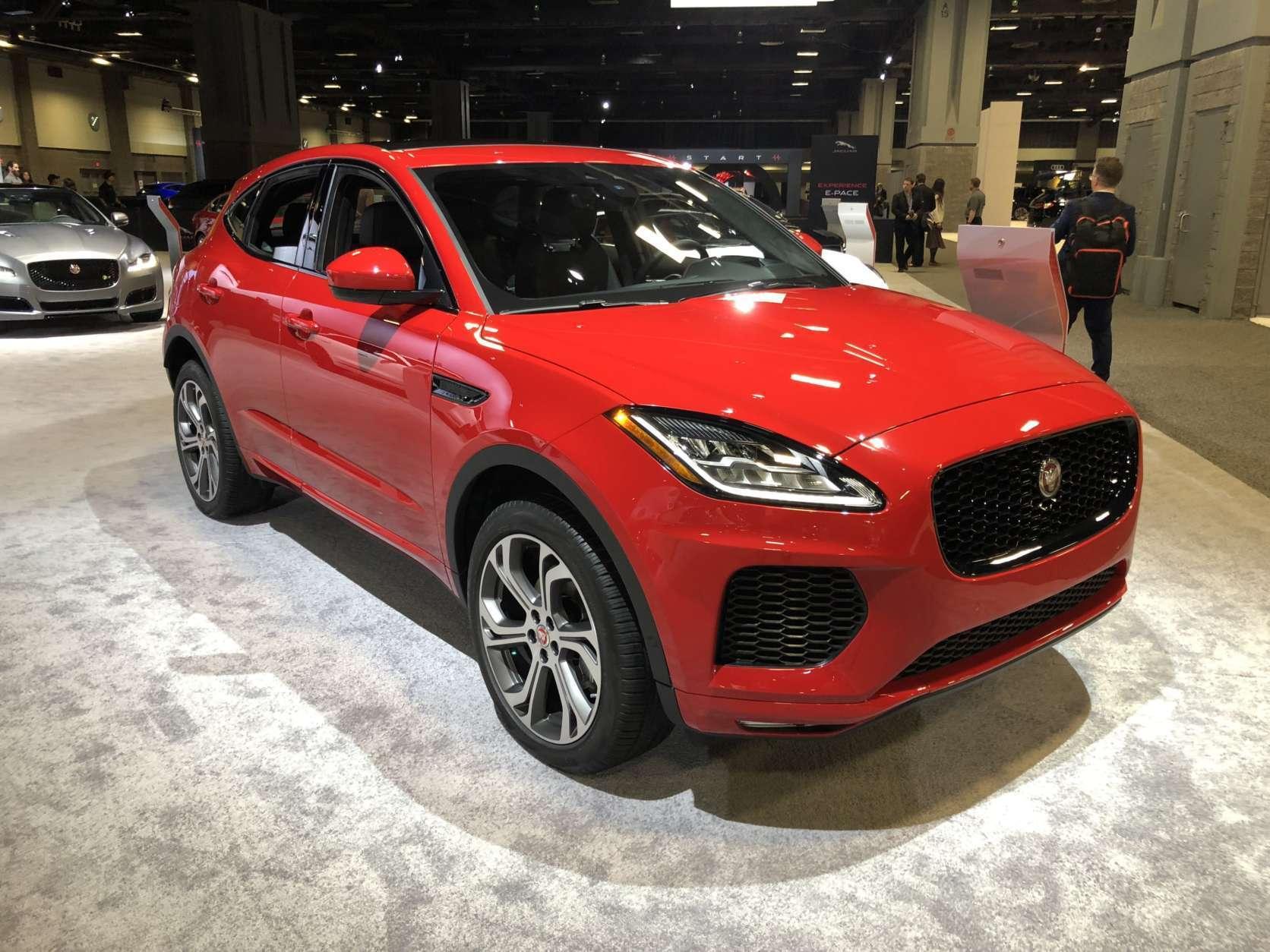 Jaguar E PACE (WTOP/Mike Parris)