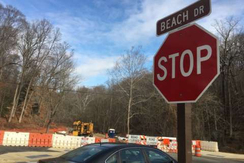 Another section of Beach Drive is reopened