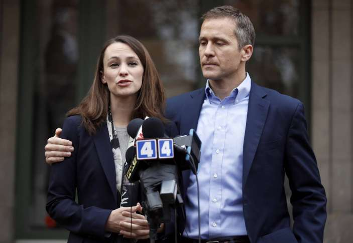 Missouri Gov. Eric Greitens acknowledges affair, denies blackmail allegations