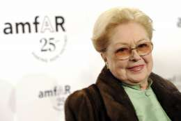 FILE- In this Feb. 9, 2011, file photo, The Foundation for AIDS Research, or amfAR, Founding Chairman Dr. Mathilde Krim attends amfAR's annual New York Gala at Cipriani Wall Street in New York. Krim, a prominent AIDS researcher who galvanized worldwide support in the early fight against the deadly disease, died Monday, Jan. 15, 2018. She was 91. (AP Photo/Evan Agostini, File)