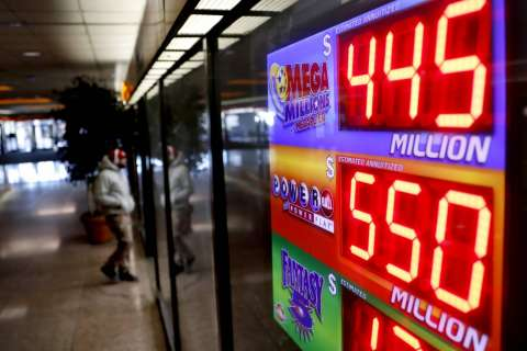 Powerball estimated to be $455M