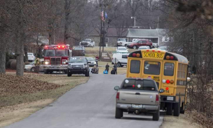 Image result for Kentucky school shooting: 2 dead, 12 more shot at Marshall County High School