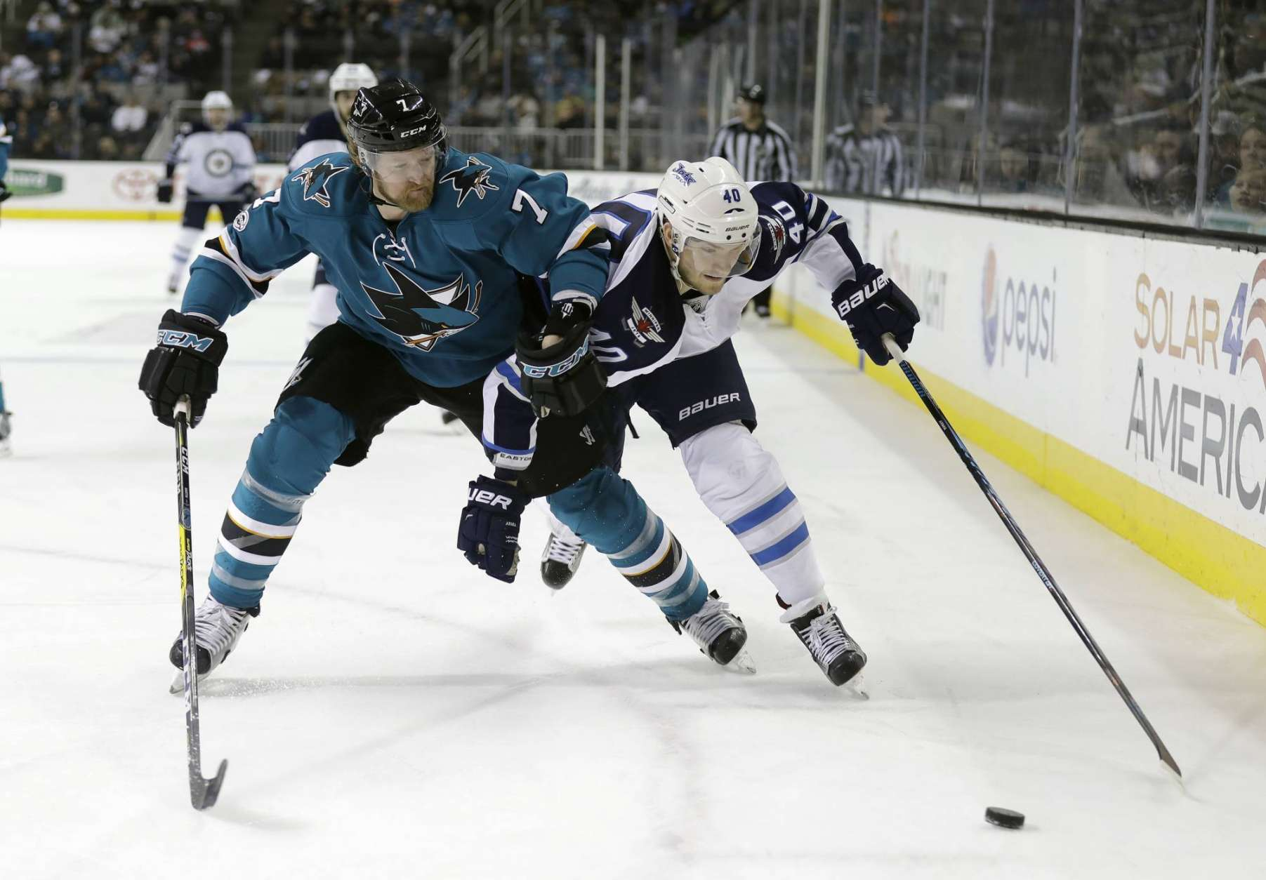 AP Source: Sharks place D Paul Martin on waivers   WTOP