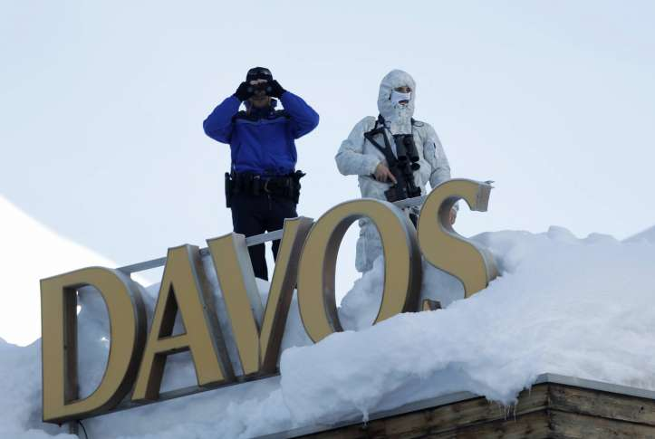 President Trump takes his 'America First' policies to Davos 'globalists'