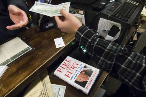 Arlington libraries scramble for copies of 'Fire and Fury'