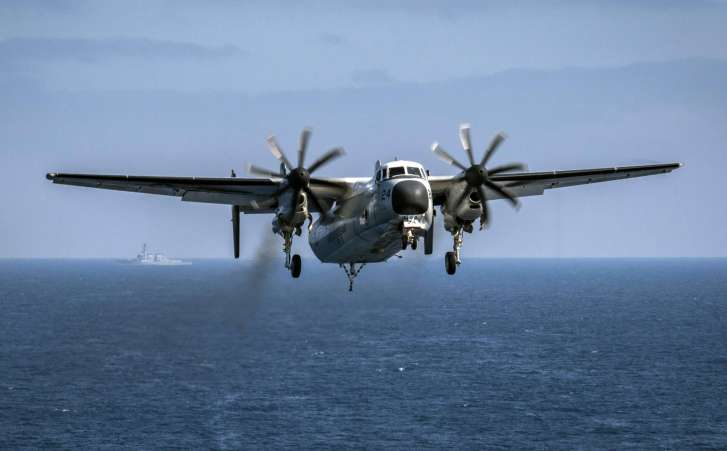 US Navy locates wreckage of missing C-2A plane