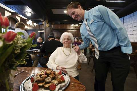 Waitress retires from Penn State hangout after 61 years
