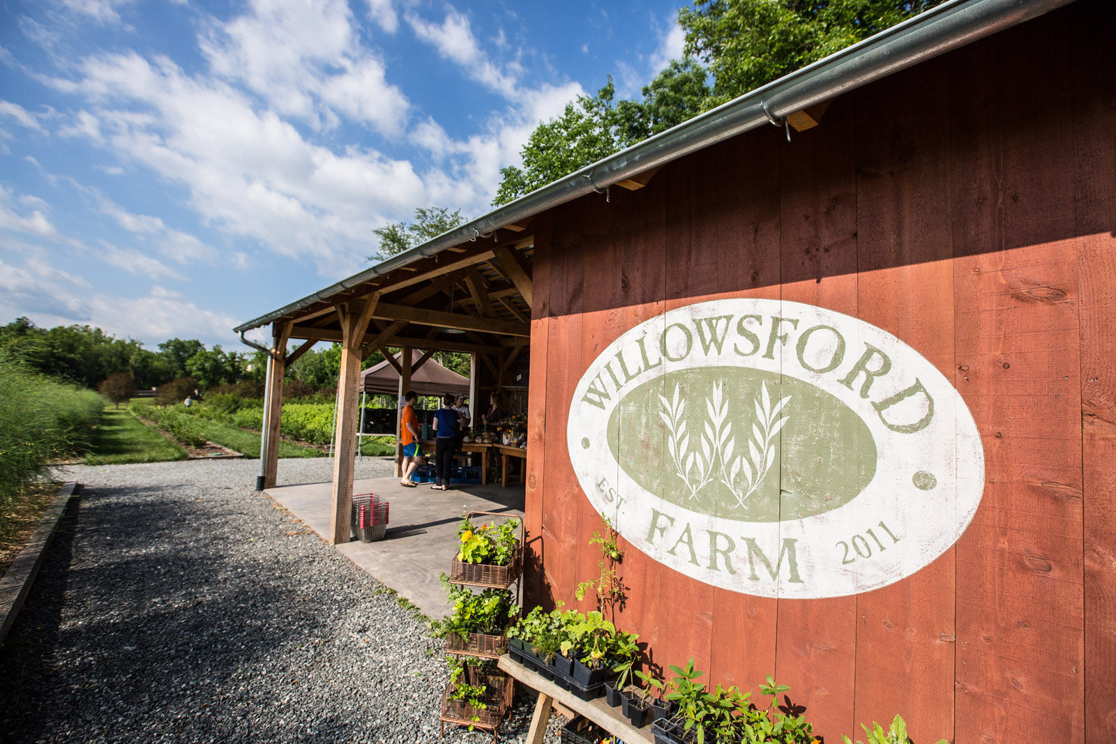 In addition to the 2,000 acres of open space, Willowsford also includes a 300-acre working farm and farm-to-table culinary program. (Courtesy Willowsford)