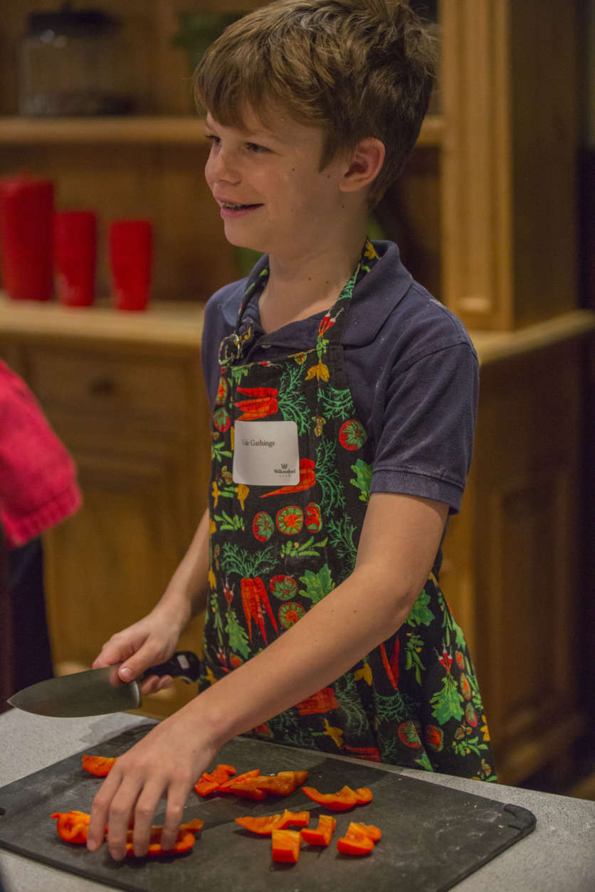 Cooking classes at Willowsford include a Junior Chef's Academy and a summer farm camp for kids. (Courtesy Willowsford)