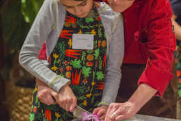 Cooking classes at the Junior Chef's Academy at Willowsford. (Courtesy Willowsford)