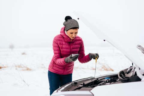 As temperatures drop, calls for roadside assistance rise