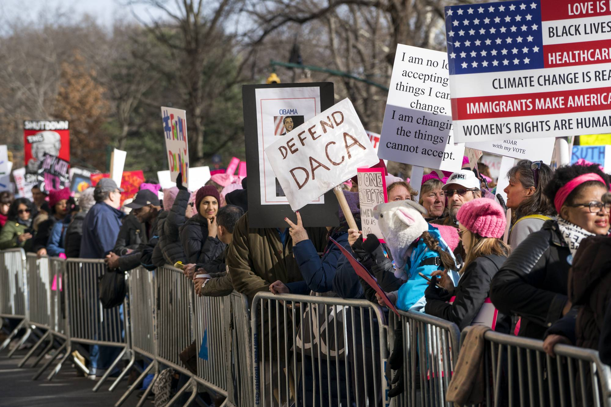 Photos: 2018 Women's March across the US