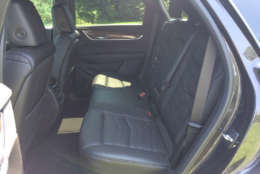 The rear seats are also heated. (WTOP/Mike Parris)