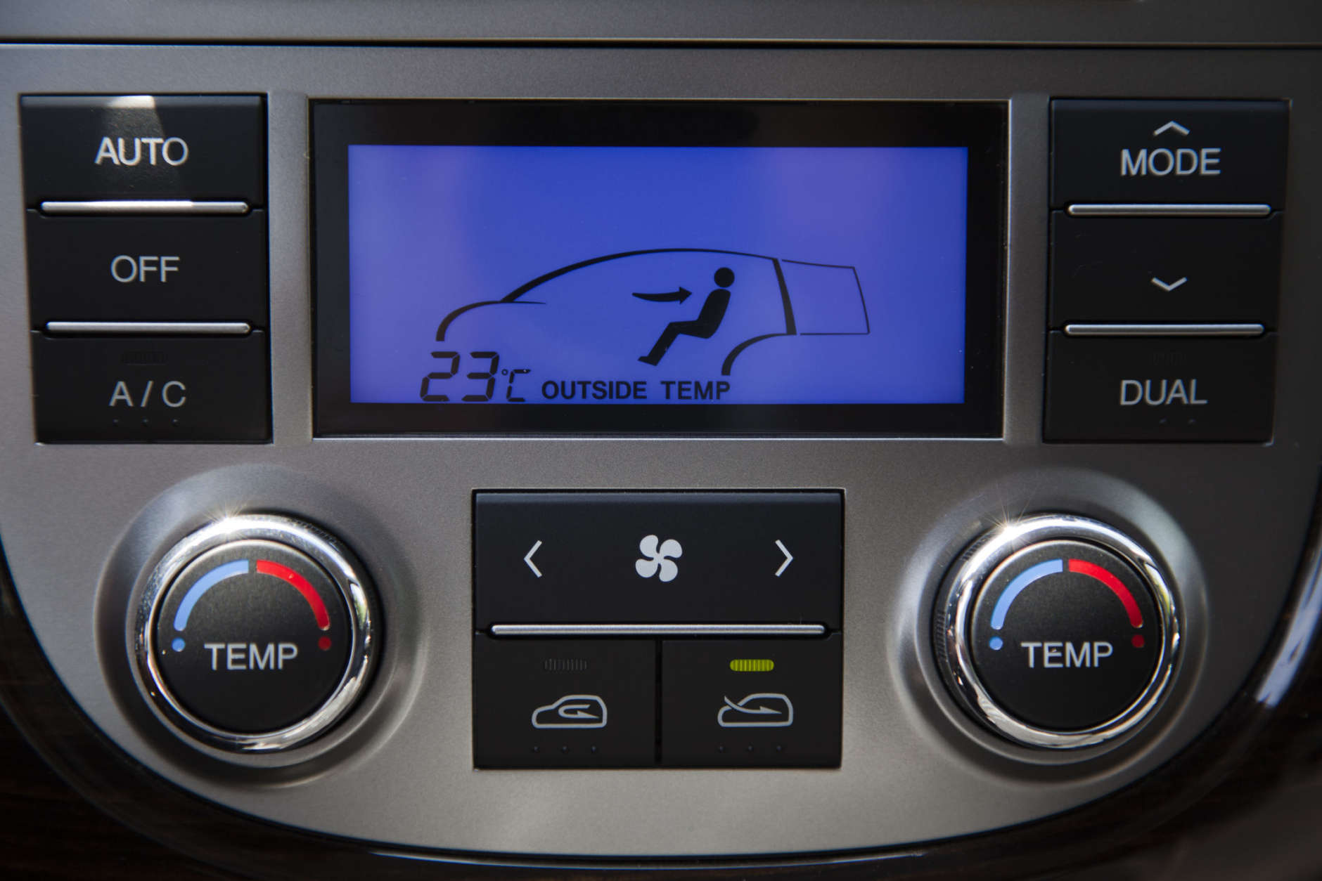 Toyota Camry: Outsiderecirculated air mode