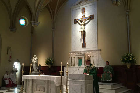 Oldest Catholic church in Alexandria gets new designation from Pope Francis
