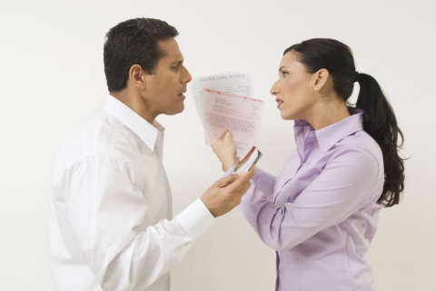 What's worse than an affair? Some say hiding money