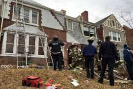 "D.C. firefighters had to fight flames and search for victims in a house with ""severe hoarding conditions."" (Courtesy D.C. Fire and EMS)"