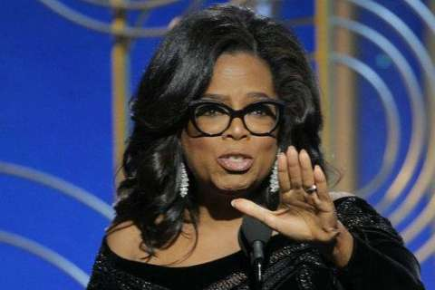 "NBC apologizes for, deletes ""Our president"" Oprah tweet"