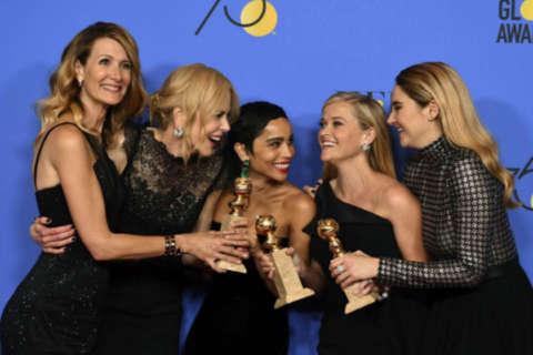 'Big Little Lies,' 'Three Billboards' and Oprah dominate #MeToo Golden Globes