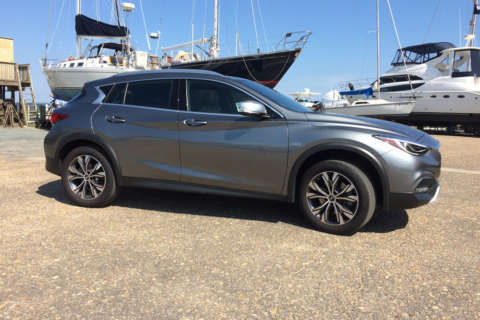 Infiniti QX30 Premium is a compact crossover with German roots