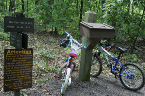 Trail etiquette reminders from cycling group after Va. assault