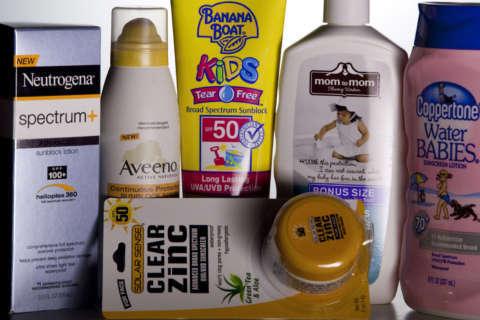 DC considers relaxing sunscreen ban in schools
