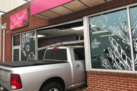 Pickup truck crashes into Rockville bakery (PHOTOS)