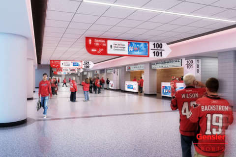 Padded seats, new concourses part of $40M Capital One Arena renovation
