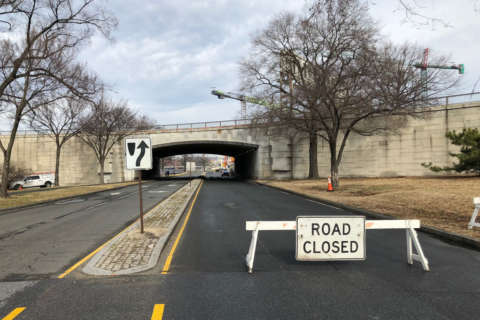 Part of Rock Creek Parkway closed Thursday