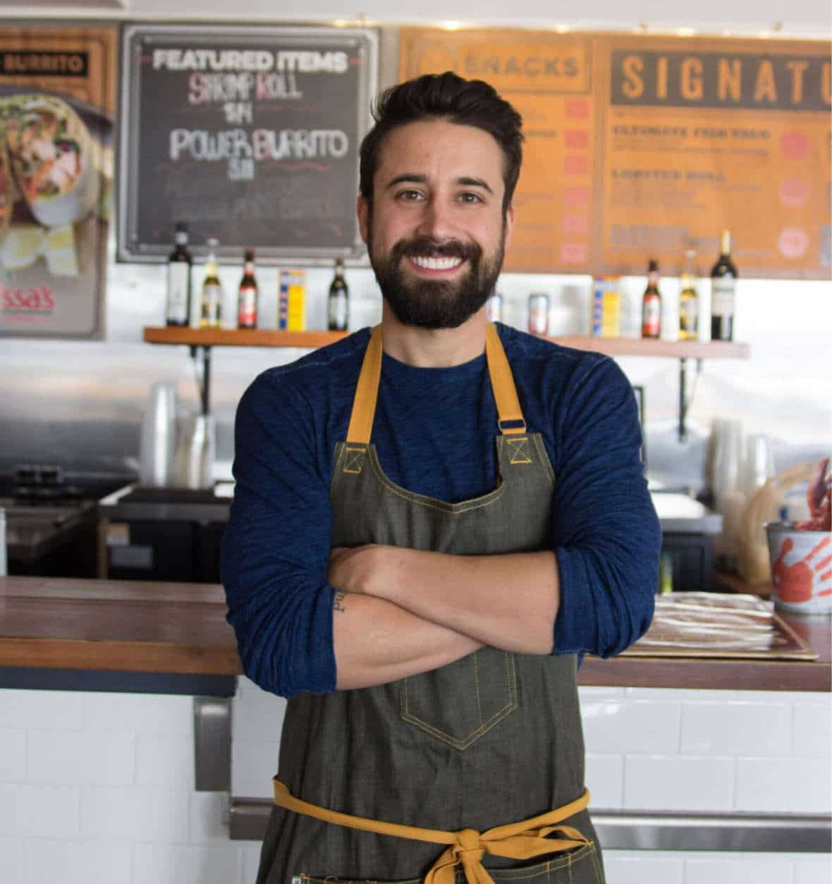 """Slapdash chef Andrew Gruel says Maryland offers """"the perfect coastal location"""" for the restaurant's newest location. (Courtesy Slapfish)"""