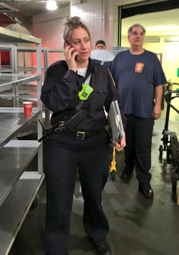 D.C. Fire and EMS rescued 26 people from a stalled elevator on Massachusetts Ave. in Northwest D.C. (Courtesy D.C. Fire and EMS)