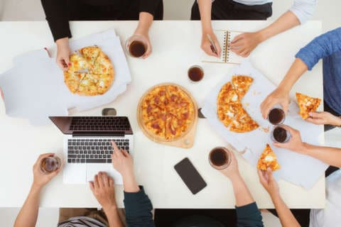 Office workers want flex — and free food