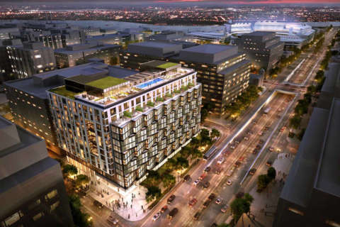 More luxury apartments for fast-growing Navy Yard